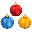 Papercraft - Adorno bolas arbol