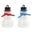 Papercraft - Adorno muñeco nieve