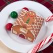 Papercraft recortable y armable de una caja caramelos para Navidad. Manualidades a Raudales.