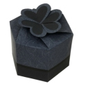 Papercraft - Caja regalo azul