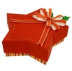 Papercraft de una Caja de regalo estrella. Manualidades a Raudales.