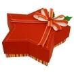 Papercraft - Caja regalo estrella