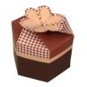 Papercraft - Caja regalo marrón