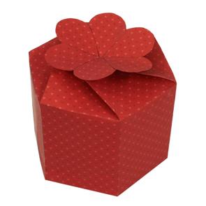 Papercraft - Caja regalo roja