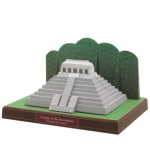 Papercraft - Mexico - Templo Inscripciones