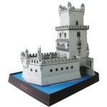 Papercraft de la Torre de Belém en Portugal. Manualidades a Raudales.