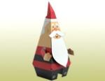 Papercraft - Santa claus de parado