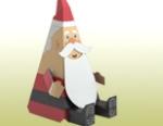 Papercraft - Santa Claus sentado