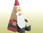 Papercraft - Santa Claus y sus duendes.