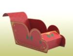 Papercraft - Trineo sencillo
