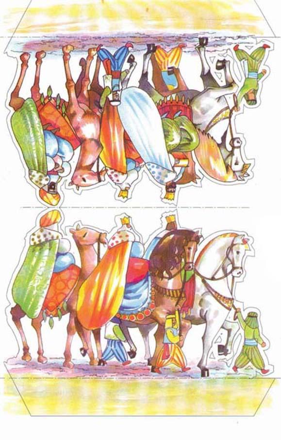 Belen recortable - Reyes Magos