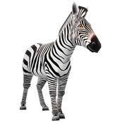 Papercraft de una Cebra / Zebra. Manualidades a Raudales.