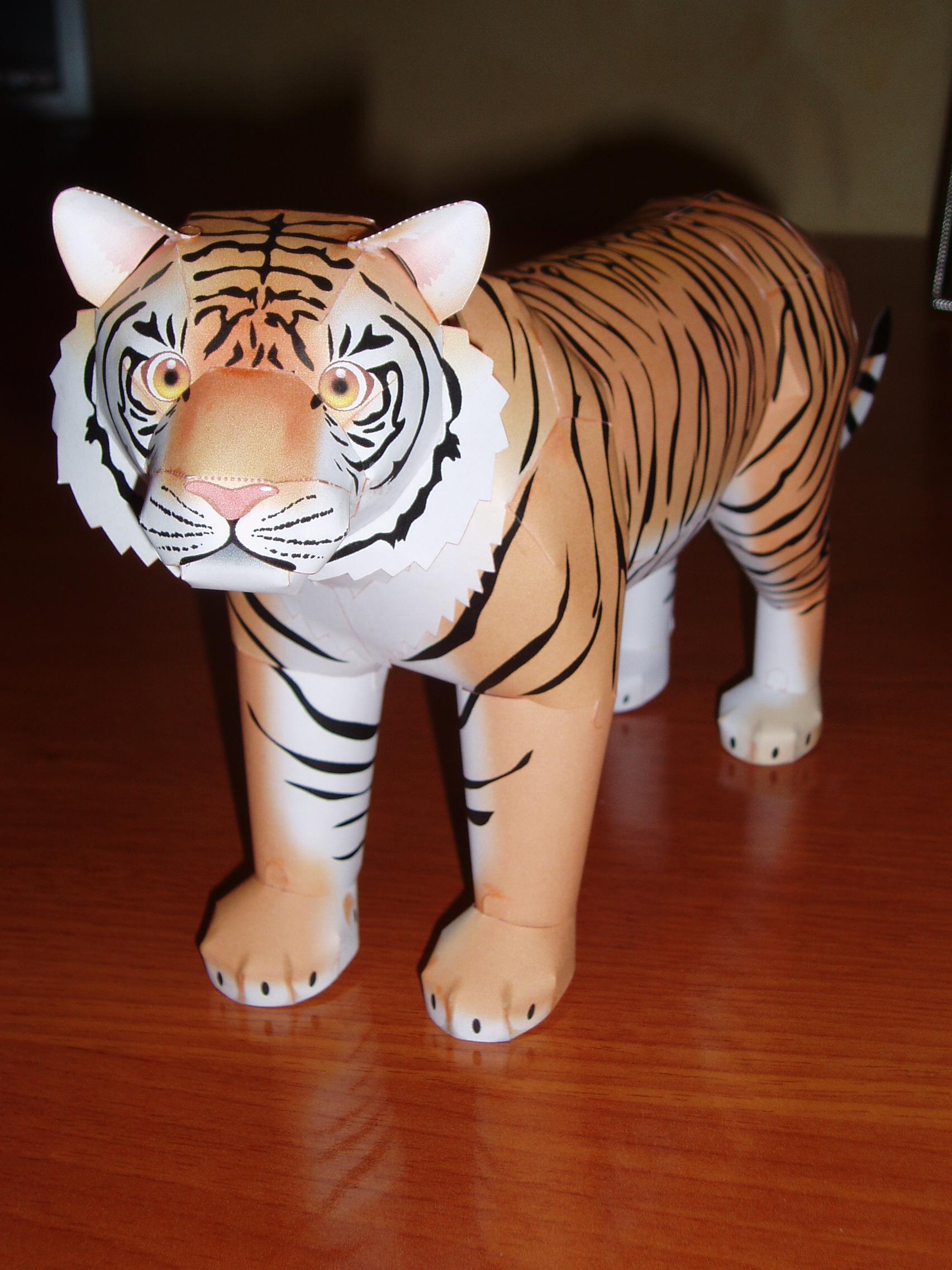 Papercraft - Tigre
