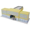 Papercraft del aeropuerto de la mini-ciudad / craftown. Manualidades a Raudales.