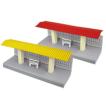 Paper model de un Andén / Platform. Manualidades a Raudales.