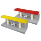 Paper model imprimible del Andén / Platform. Manualidades a Raudales.