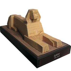 Colección de papercraft recortables de edificios famosos de África. Manualidades a Raudales.