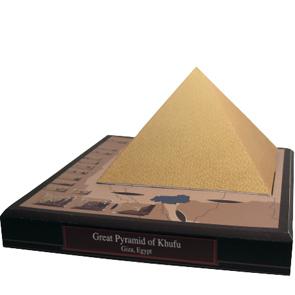 Papercraft building - Egipto - Gran Pirámide de Kufu