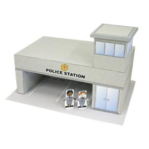 Papercraft - Comisaria de Policía