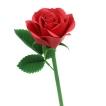 Paper model de una Rosa roja. Manualidades a Raudales.