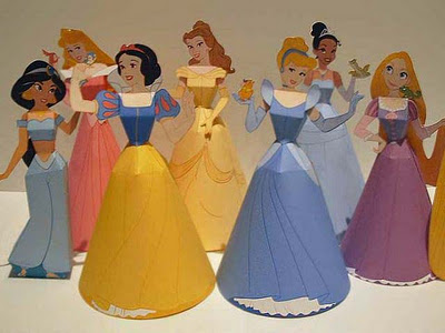 Papercraft - Princesas Disney.