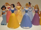 Papercraft de las Princesas Disney. Manualidades a Raudales.