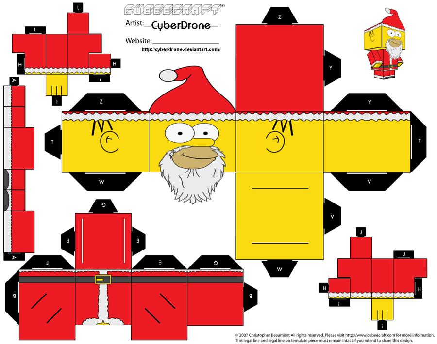 Cubeecraft de Navidad.