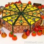 Papercraft de una Caja de caramelos. Manualidades a Raudales.