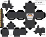 Cubecraft de los Pingüinos de Madagascar.