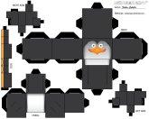 Cubeecraft de los Pingüinos de Madagascar.
