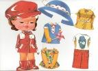 Recortables de muñecas / Paper dolls.